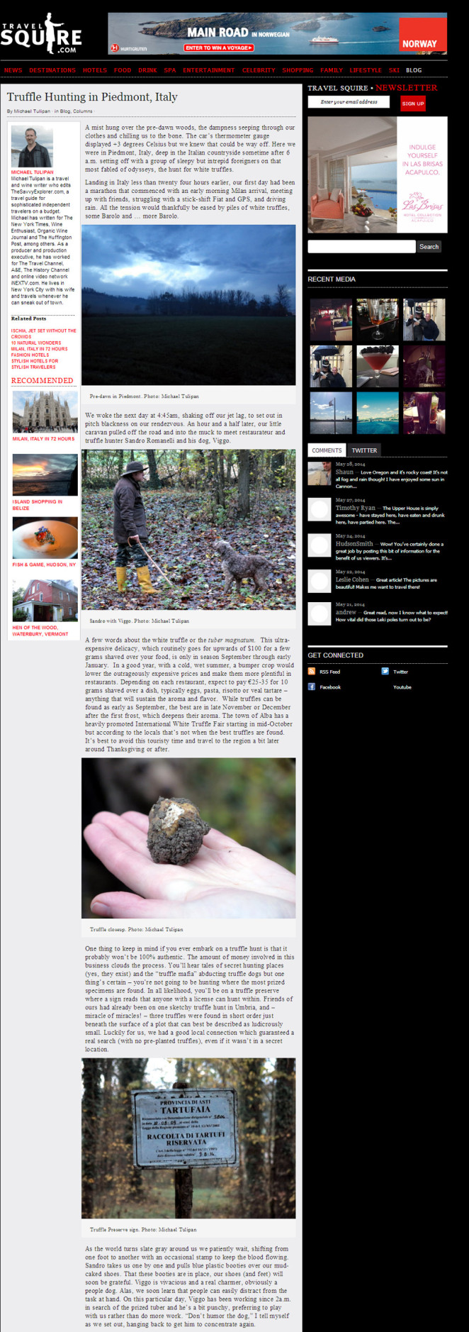 Travel Squire Truffle Hunting