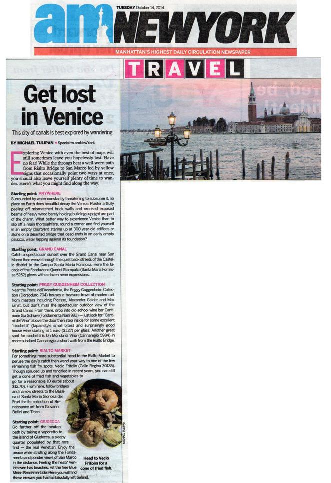 AM NY Venice Story